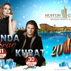 Funda Arar ve Kubat Yılbaşı'nda Kıbrıs Nuh'un Gemisi Deluxe Hotel & Spa'da Sahne Alıyor