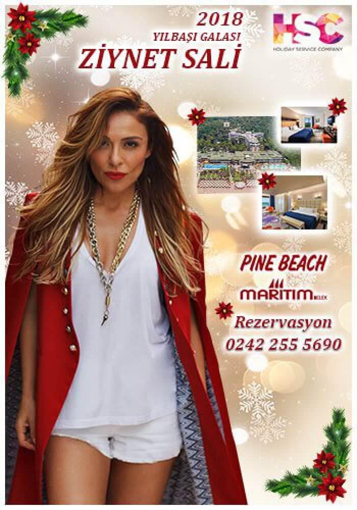 Maritim Pine Beach Hotel Belek Yılbaşı 2018