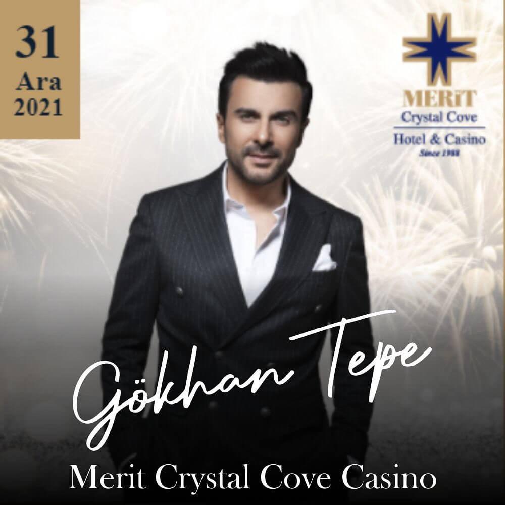 Merit Crystal Cove Hotel Casino 2022 Yılbaşı Programı