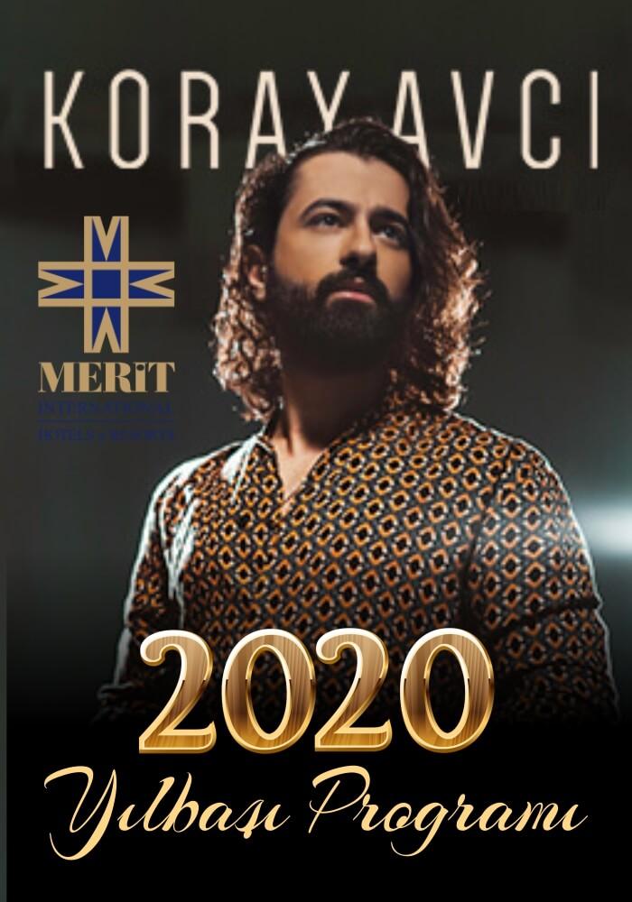 Merit Crystal Cove Hotel Casino Yılbaşı Programı 2020