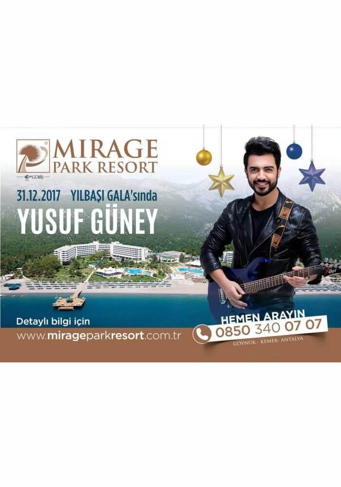 Mirage Park Resort Güriş Yılbaşı 2018