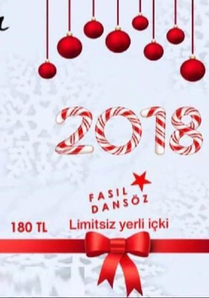 Mustafa Meyhane Ankara Yılbaşı 2018