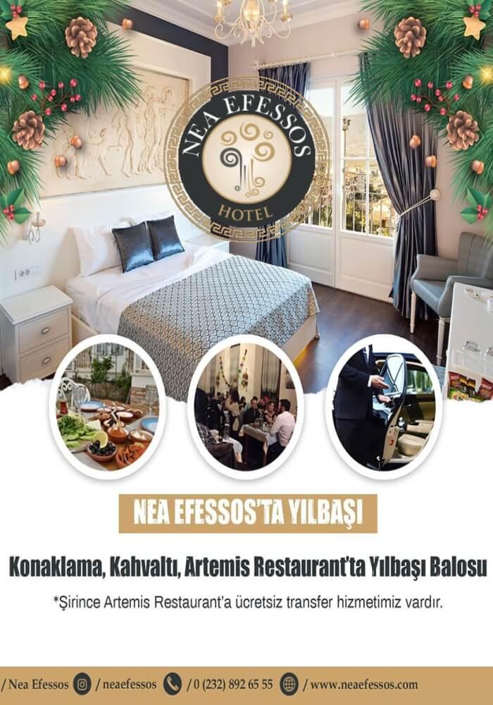 Nea Efessos Otel İzmir Yılbaşı Programı 2020