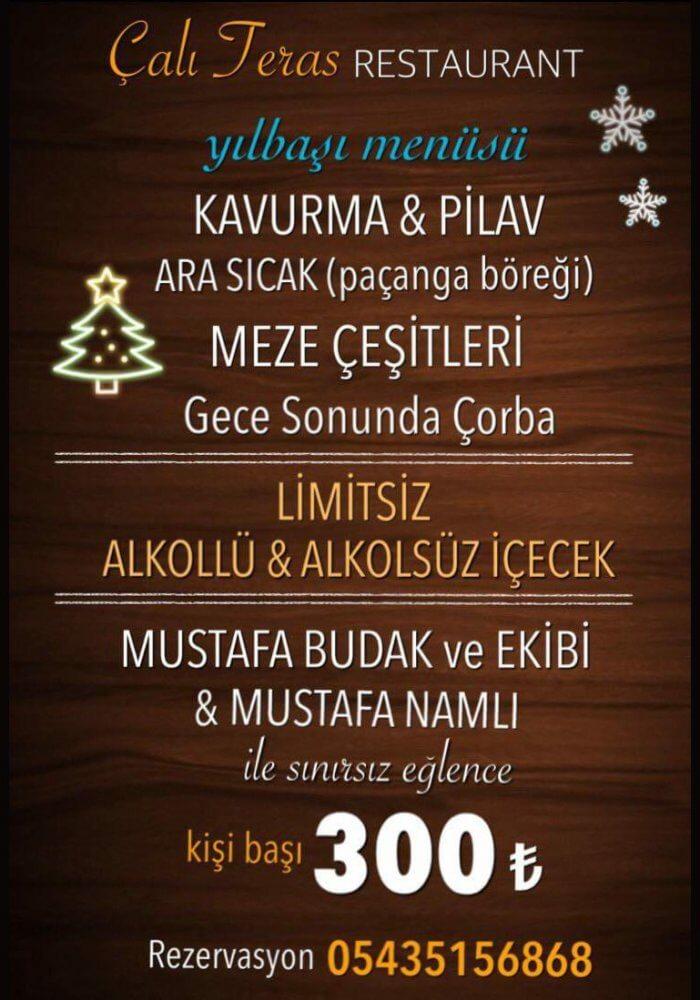 Nevşehir Avanos Çalı Teras Restaurant Yılbaşı Programı 2019