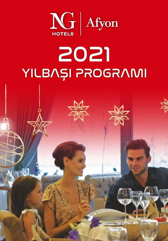 NG Afyon Otel 2021 Yılbaşı Programı