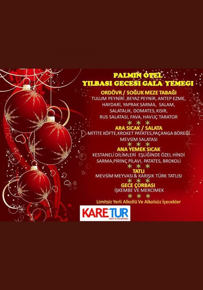 İzmir Yılbaşı 2019 - Palmin Hotel Kuşadası 2019 Yılbaşı Programı