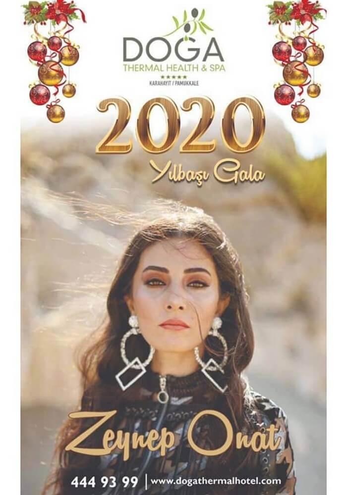 Pamukkale Doğa Termal Otel Yılbaşı Programı 2020