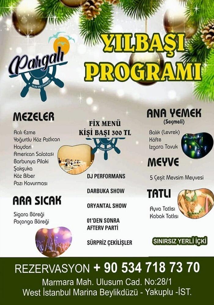Pargalı Rum Meyhanesi İstanbul Yılbaşı Programı 2020