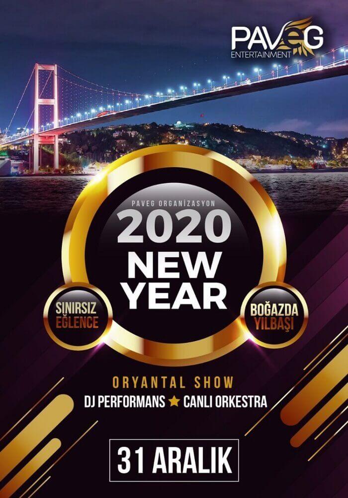 PAVEG Organizasyon 2020 Teknede Yılbaşı Programı