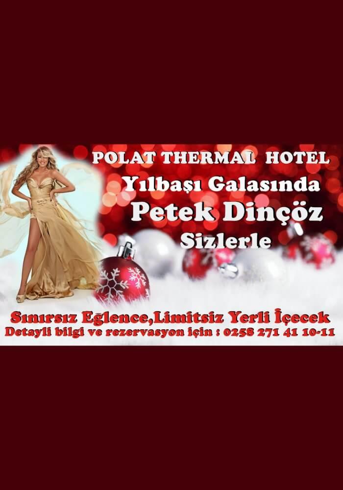 Polat Termal Otel Pamukkale Yılbaşı 2018