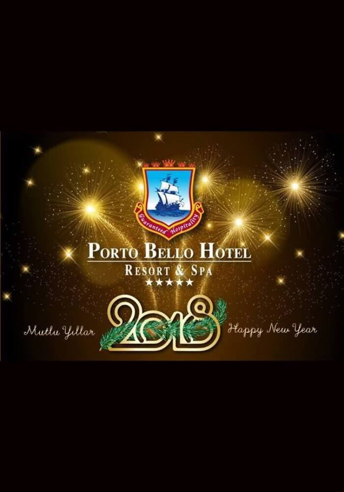 Porto Bello Hotel Antalya Yılbaşı 2018