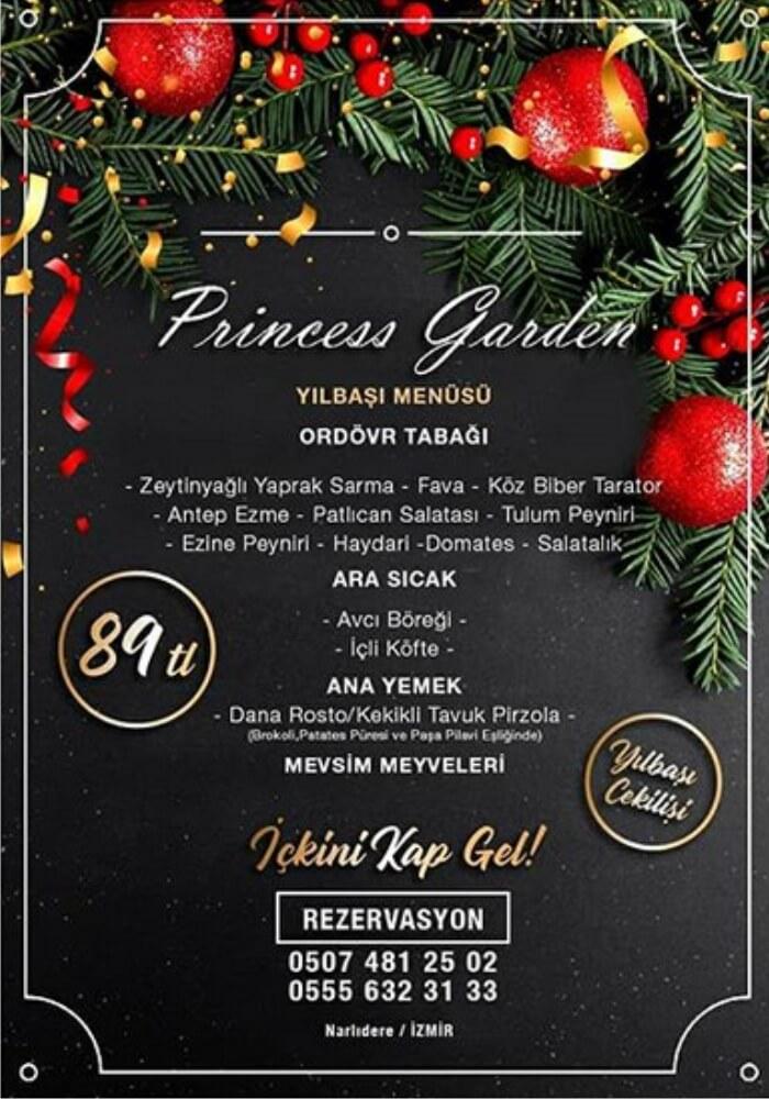 Princess Garden İzmir Yılbaşı Programı 2020