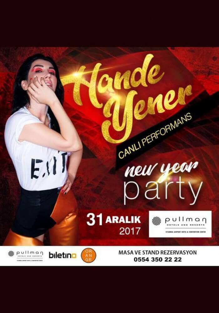 Pullman İstanbul Airport Hotel Convention Center Yılbaşı 2018