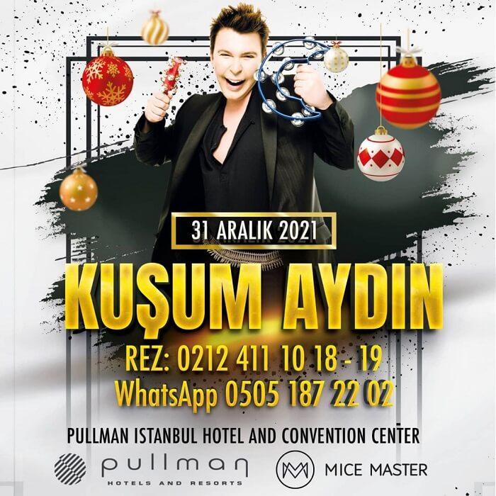 Pullman İstanbul Hotel Convention Center Yılbaşı Programı 2022