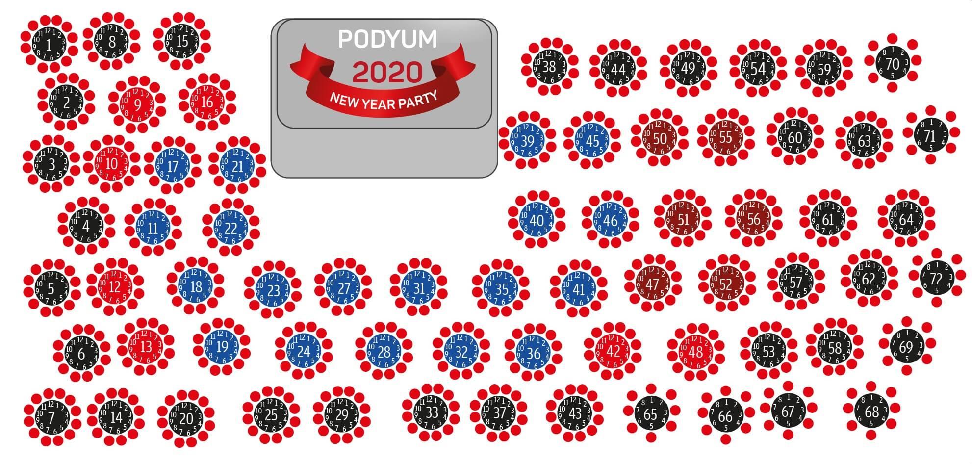 Ramada Plaza Antalya Yılbaşı Programı 2020