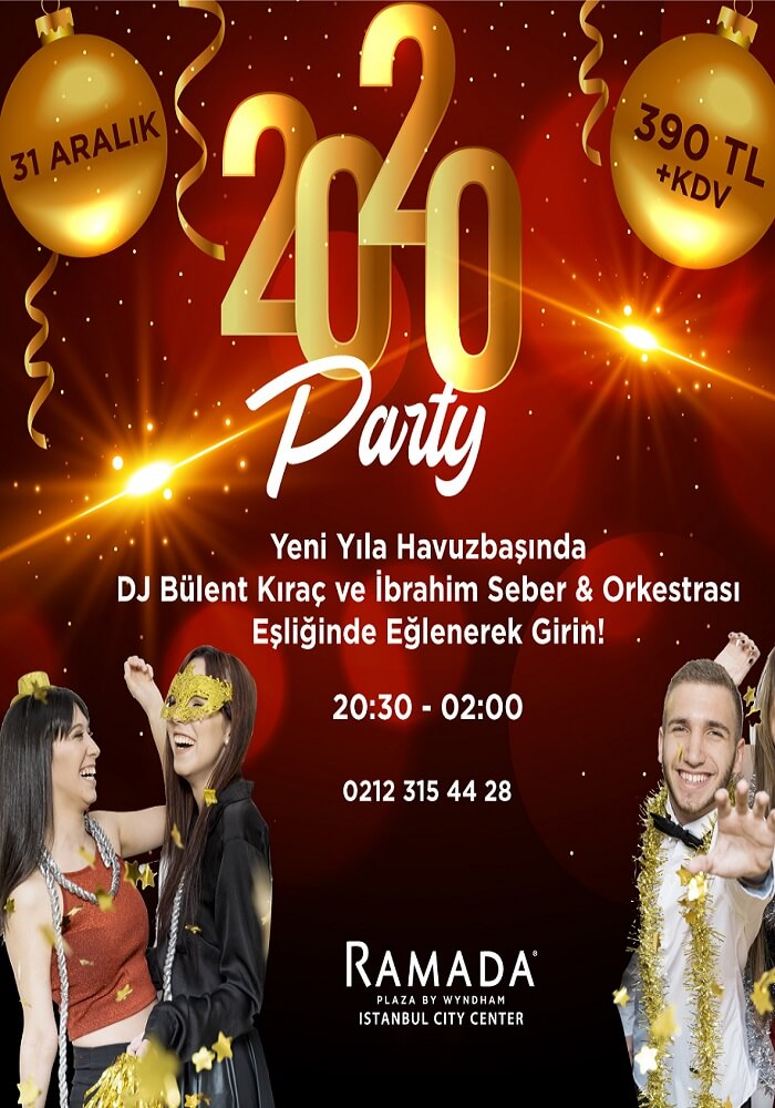 Ramada Plaza İstanbul Yılbaşı Programı 2020