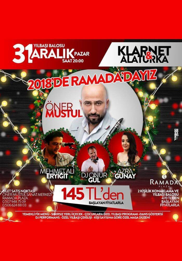 Ramada Plaza İzmir Yılbaşı 2018