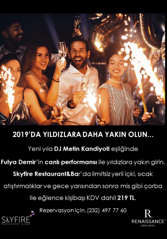 Renaissance İzmir Hotel 2019 Yılbaşı Programı