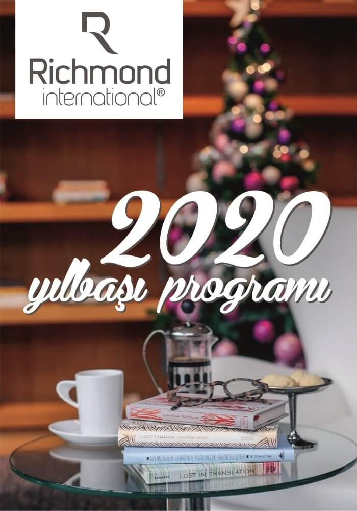 Richmond Nua Wellness Spa Sapanca 2020 Yılbaşı Programı