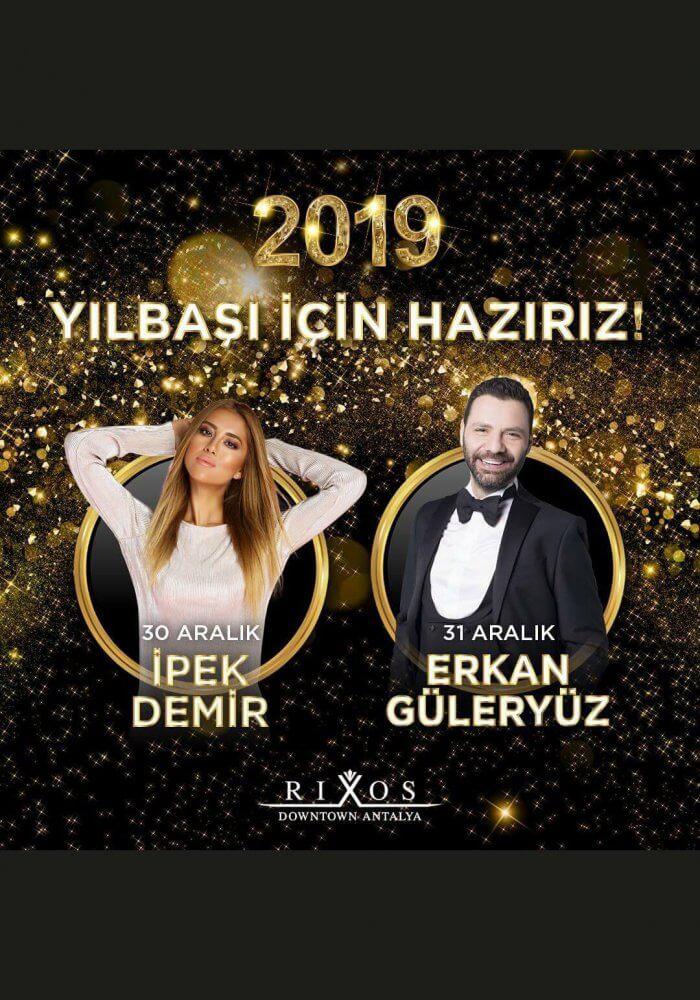 Rixos Downtown Antalya 2019 Yılbaşı Programı