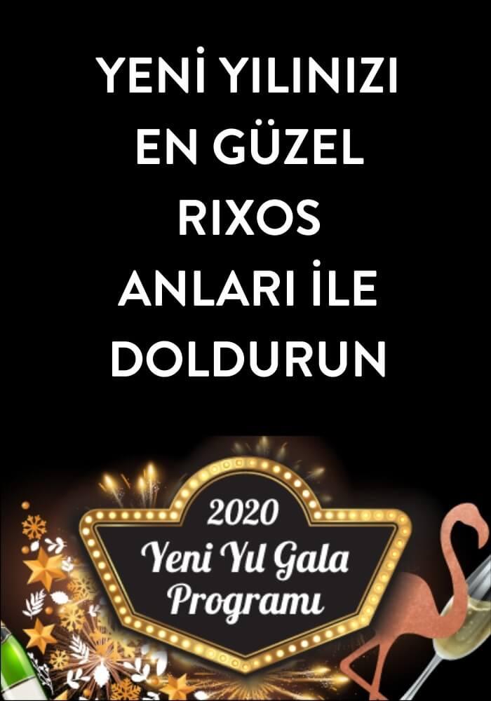 Rixos Premium Belek 2020 Yeni Yıl Programı