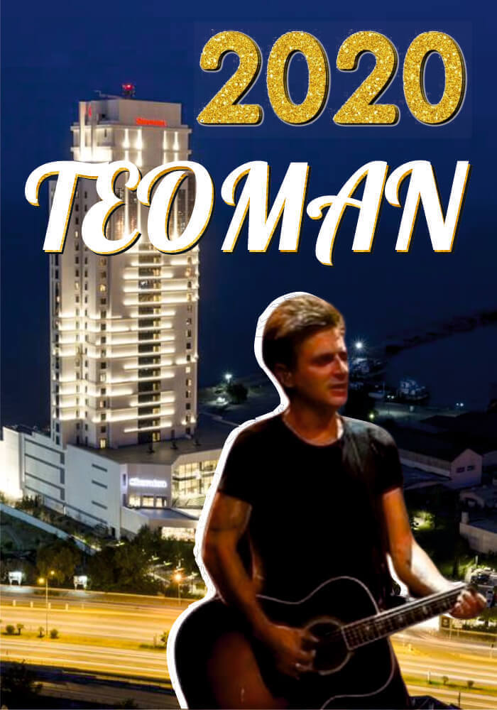 Teoman ile Samsun Sheraton Grand Hotel Yılbaşı Konseri 2020
