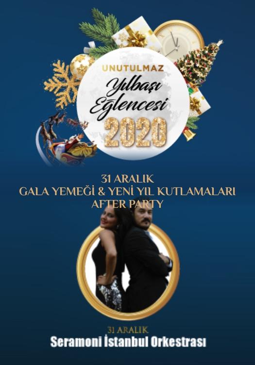 Seramoni İstanbul Orkestrası 2020 Yılbaşı Programı Rixos Sungate Hotel