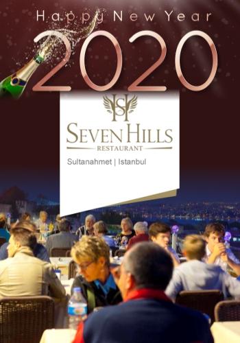 Seven Hills Restaurant İstanbul 2020 Yılbaşı Programı