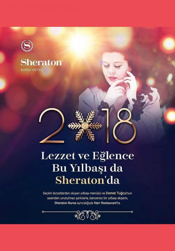 Sheraton Bursa Hotel Yılbaşı 2018