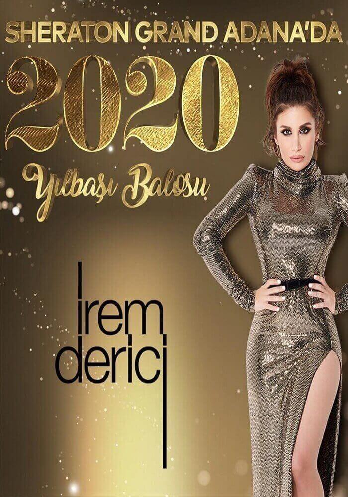 İrem Derici ile Sheraton Grand Adana 2020 Yılbaşı Balosu