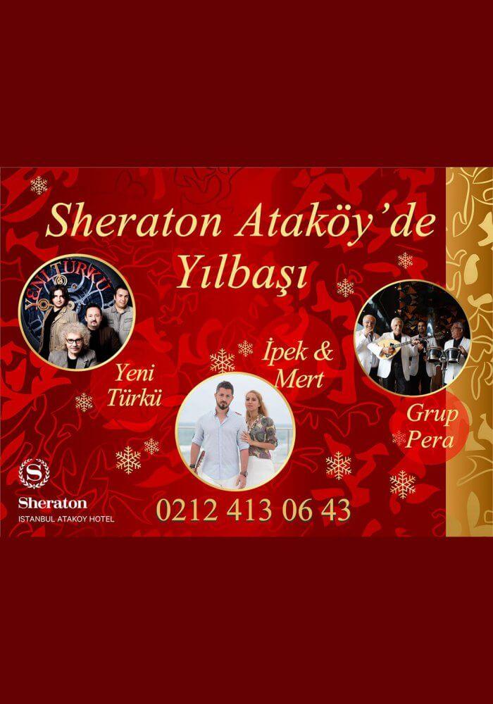 Sheraton İstanbul Ataköy Yılbaşı 2018