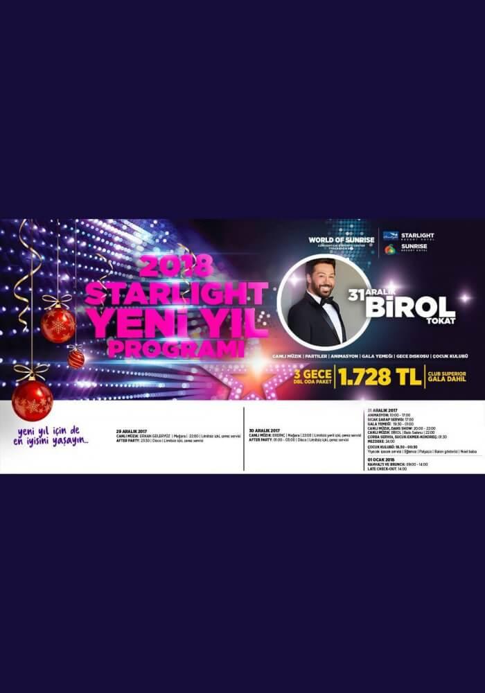 Starlight Resort Hotel Antalya Yılbaşı 2018
