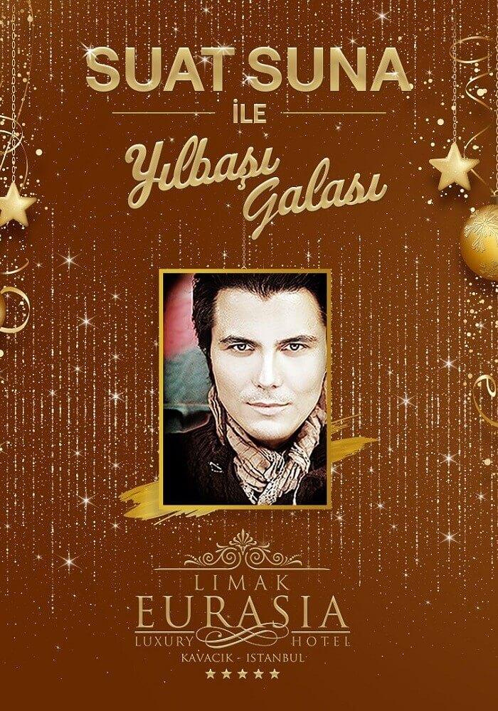 Suat Suna ile Limak Eurasia Luxury Hotel 2020 Yılbaşı Gala Yemeği