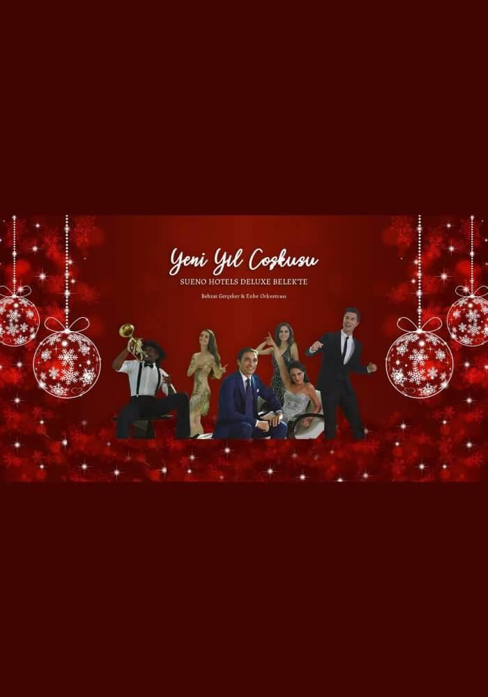 Sueno Hotels Deluxe Belek Yılbaşı Programı 2019