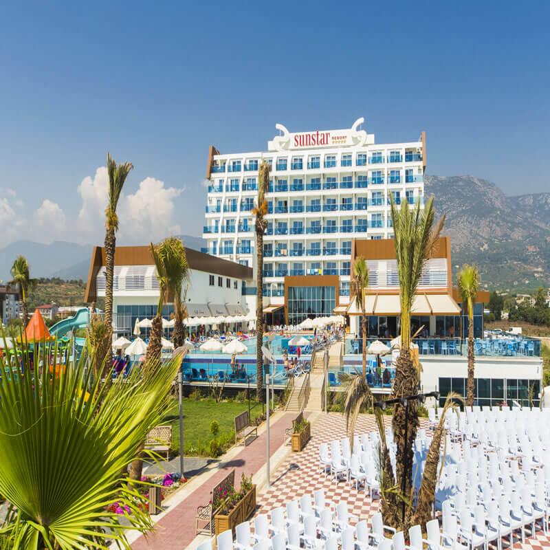 Sun Star Resort Otel Antalya