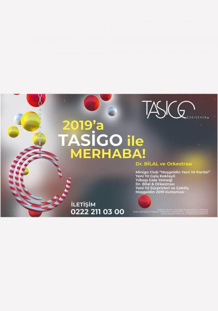 Tasigo Hotel Eskişehir Yılbaşı Programı 2019