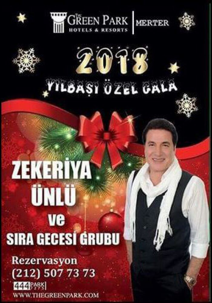 The Green Park Hotel Merter Yılbaşı 2018