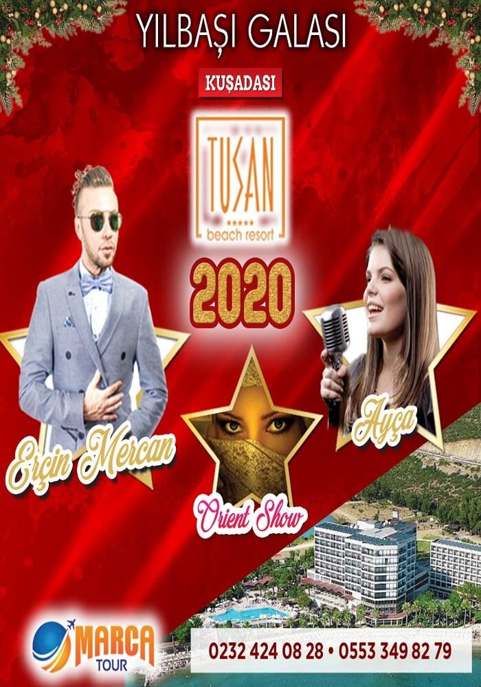Tusan Beach Resort Yılbaşı Programı 2020