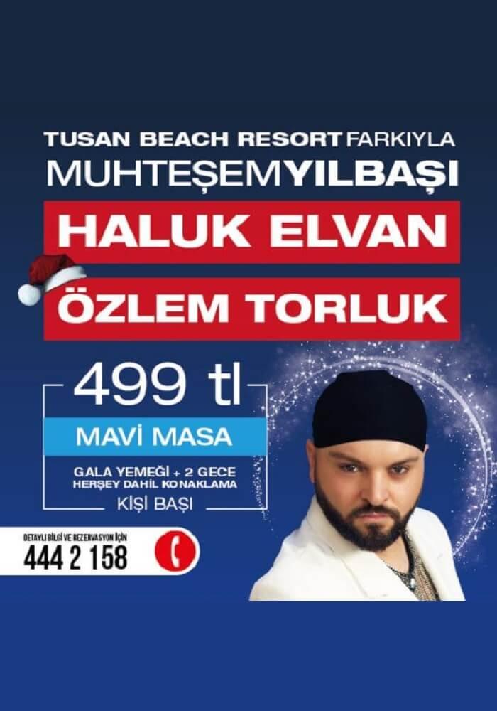 Tusan Beach Resort Yılbaşı 2018