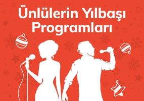 Ünlülerin Yılbaşı Programları