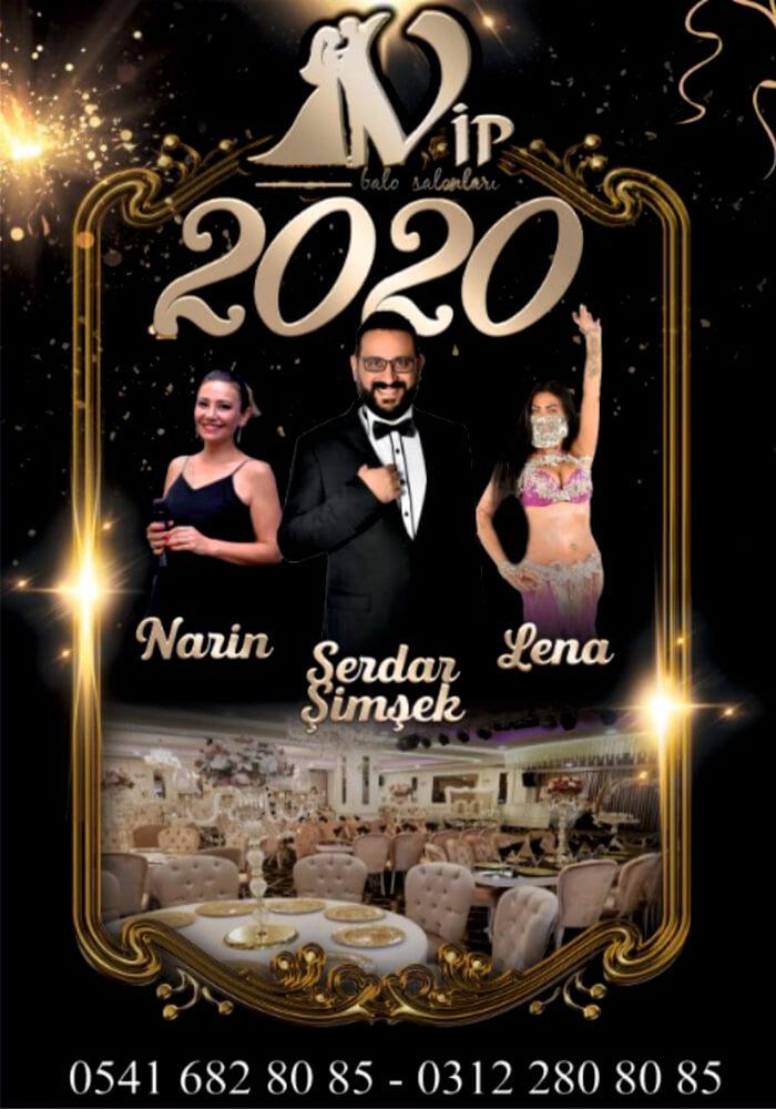 Vip Golden Eryaman Ankara Yılbaşı Programı 2020