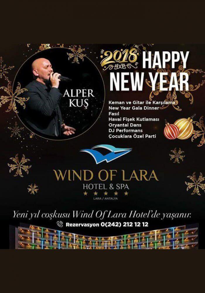 Wind of Lara Antalya Yılbaşı 2018