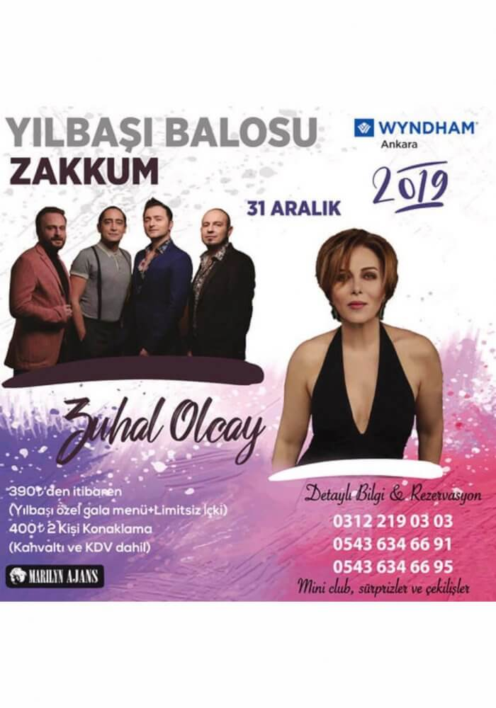 Wyndham Ankara 2019 Yılbaşı Balosu