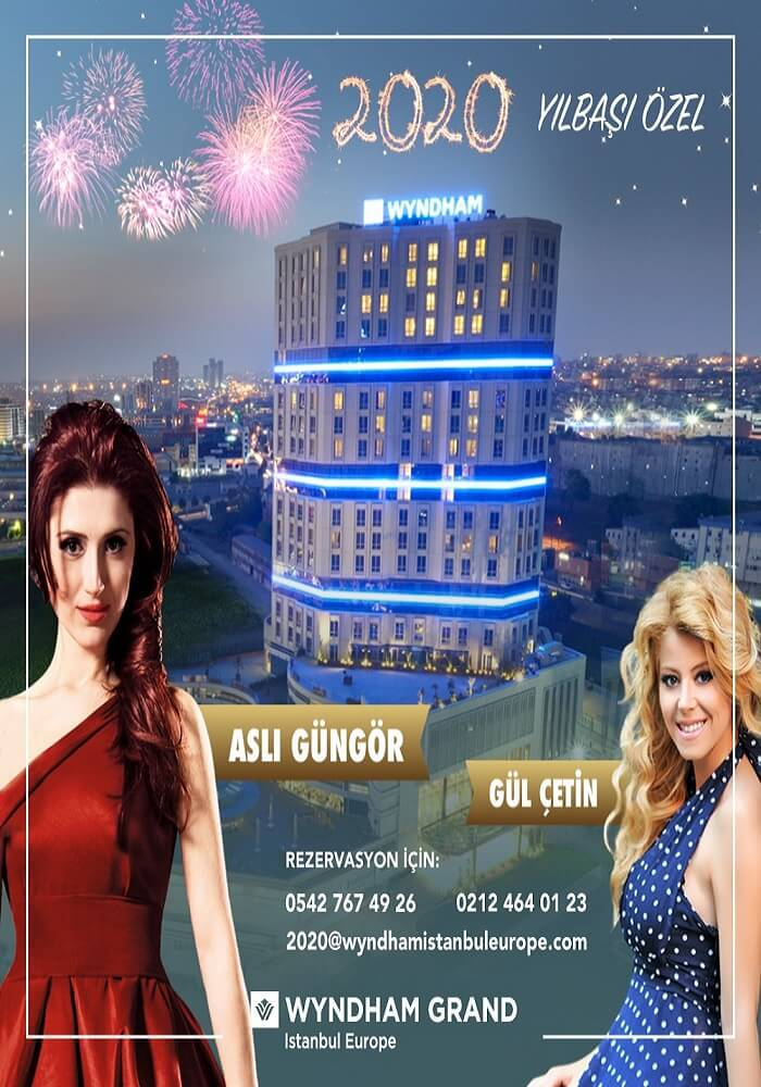 Wyndham Grand İstanbul Europe Yılbaşı Programı 2020