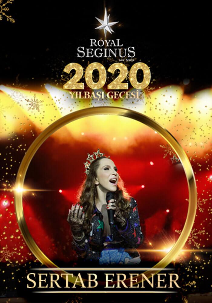 Sertab Erener ile Yılbaşı 2020 Royal Seginus Hotel Antalya