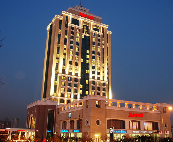 4. İSTANBUL MARRİOT HOTEL ASİA