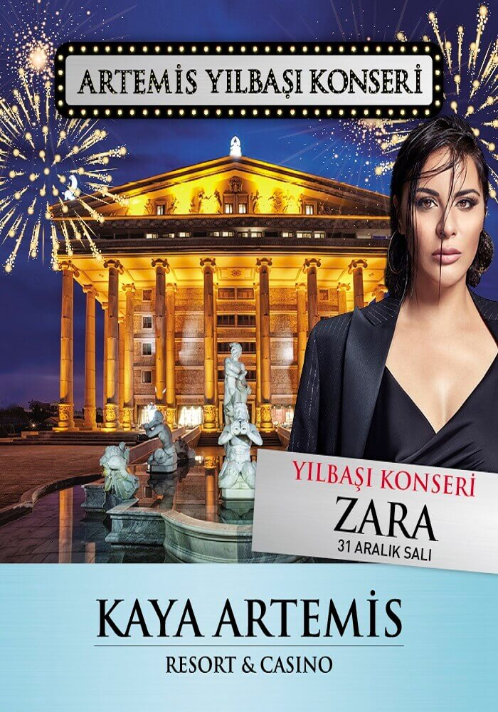 Zara ile Kaya Artemis Resort Casino 2020 Yılbaşı Galası